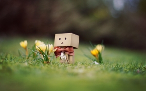 Danbo_March_Wallpaper_Flowers_by_gloeckchen