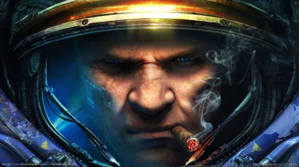 Gaming-Wallpaper-full-hd-starcraft-epic-face-blue-eye